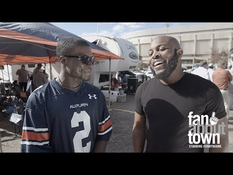 Fan About Town starring FunnyMaine: Episode 7 (Auburn, AL) - The Iron Bowl