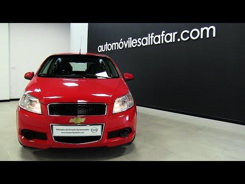 Vehiculos de ocasión | Automoviles Alfafar | Chevrolet Aveo ocasion en Valencia