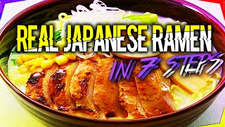 How To Make Ramen ❤ Japanese Ramen Recipe ❤ Ramen Noodle Soup