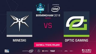 Mineski vs OpTic, ESL One Birmingham, game 2 [Jam, Lum1Sit]