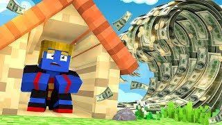 Minecraft: DESAFIO DA BASE 100% SEGURA TSUNAMI DE DINHEIRO   Afreim
