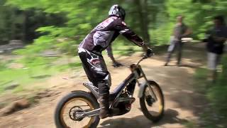 9. Canna in Action 2012 - Test GasGas Raga - Sherco Cabestany 2012