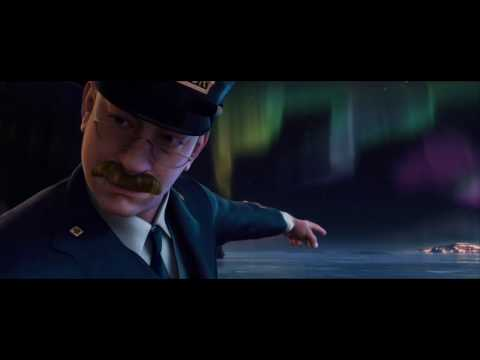 Polar Express (2004)-Arriving In The North Pole-720p