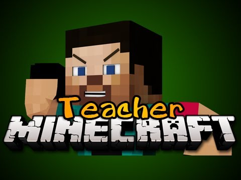 Minecraft:  NEW TEACHER MINIGAME! - Game 1 - Pedo Teacher!!