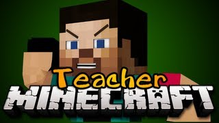Minecraft:  NEW TEACHER MINIGAME! - Game 1 - Pedo Teacher!!