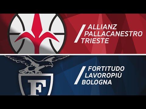 Serie A 2020-21 highlights: <br>Trieste-Fortitudo Bologna