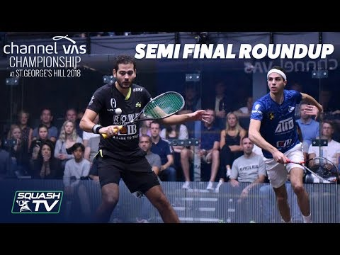Squash: Semi-Final Roundup - Channel VAS 2018