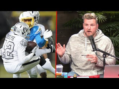 Pat McAfee Reacts to Chargers Raiders