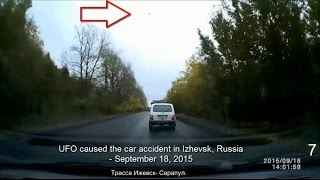 Izhevsk Russia  city pictures gallery : UFO caused the car accident in Izhevsk, Russia - September 18, 2015