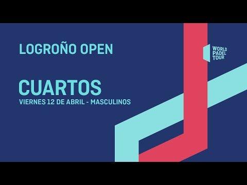 Cuartos de final masculinos - Logroño Open 2019 - World Padel Tour