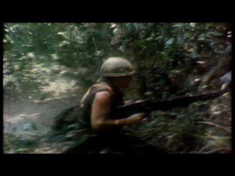 Vietnam War, 1970: CBS camera rolls as platoon comes under fire