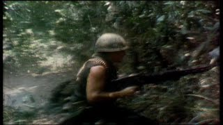 Vietnam War, 1970: CBS camera rolls as platoon comes under fire