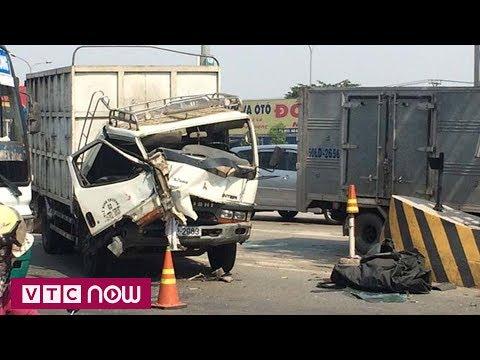 Tai nạn liên hoàn, BOT cầu Đồng Nai tê liệt | VTC1 - Thời lượng: 59 giây.