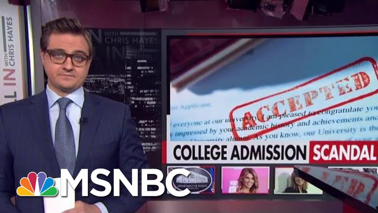 Anand Giridharadas Discusses College Admissions Scandal with Chris Hayes on MSNBC