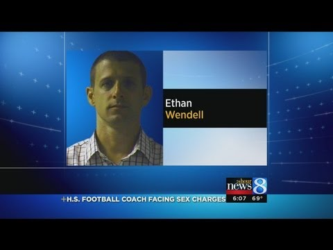 Football coach charged with sex crimes