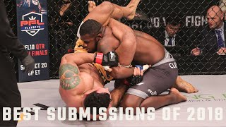 Video Top 10 Submissions of 2018 | PFL - Professional Fighters League MP3, 3GP, MP4, WEBM, AVI, FLV September 2019