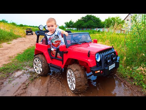 Artur and adventure Kids pretend play car toys Video for children by MelliArt
