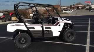 5. 2013 Kawasaki Teryx4 750 4x4 EPS LE in Bright White at Tommy's Motorsports