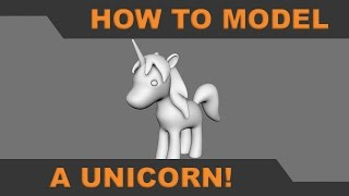In this tutorial I'll show you how to model a simple unicorn in Autodesk Maya. Download reference image here:https://drive.google.com/open?id=0Bxg-eG6ohOMvaHBTSlZfTEpPeUE