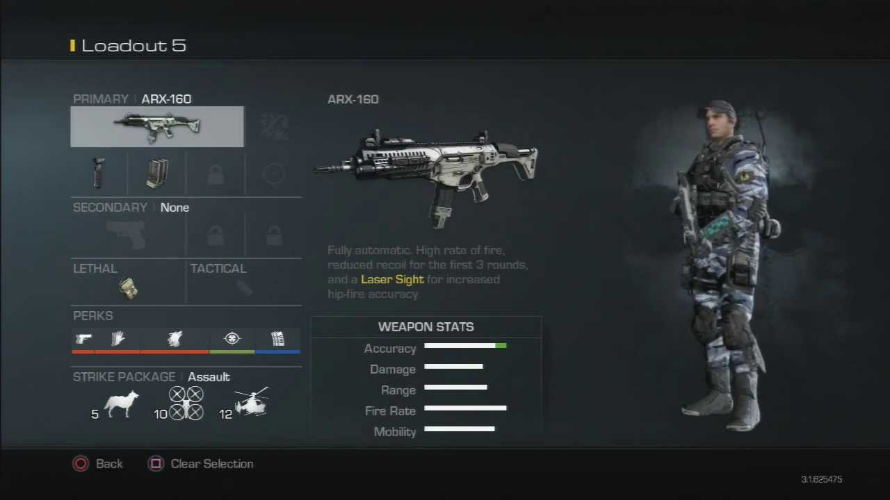 COD Ghosts: Best Class set-up to Use ( 2.50 KD | 6 Amazing Classes )