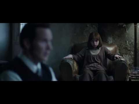 Conjuring 2 - Talking to Mr. Bill scene