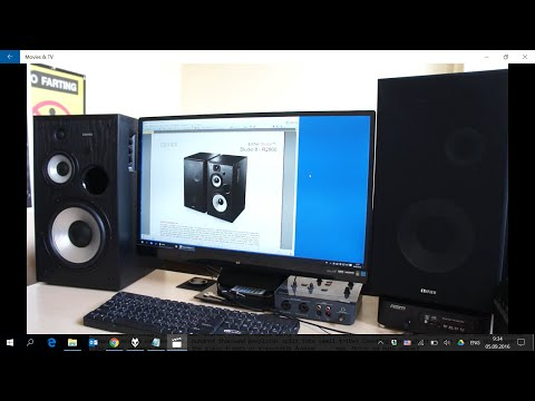 Обзор Edifier R2800. Конструкция и особенности (видео)