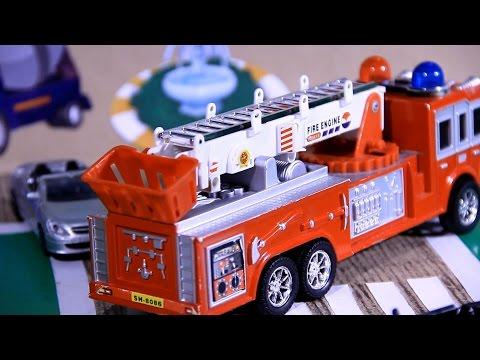 Мультики про пожарную машину все серии подряд (видео)