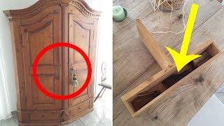 Video Guy Accidentally Finds Grandpa's Old Hidden Items In A Secret Compartment In A Cabinet MP3, 3GP, MP4, WEBM, AVI, FLV Juli 2018