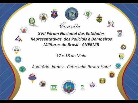 XVII Fórum da ANERMB - 17 e 18 de Maio 2018 - Catussaba Resort Hotel - Salvador