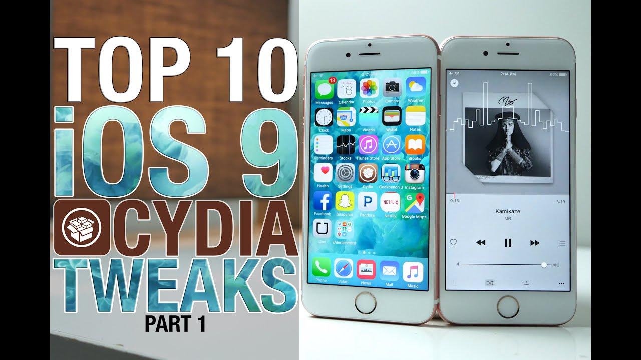 Top 10 iOS 9 Cydia Tweaks Part 1 – 9.0.2 Pangu Compatible