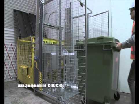 DumpMaster Bin Tipper from Spacepac Industries