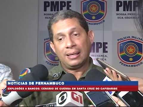 [BRASIL URGENTE PE] Quadrilha armada invade Santa Cruz do Capibaribe