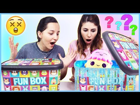 Kutudan Ne Çıkacak Challenge Eğlenceli Malzemeler Eğlenceli Çocuk Videosu Dila Kent