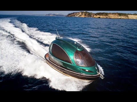 Jet Capsule: A Fast, Revolutionary Mini Jet Yacht that can be Fully Customized to Your Needs