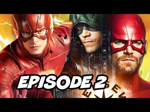 The Flash Season 5 Episode 2 and Crossover Promo Explained