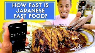 Video How FAST is Japanese Fast Food | Tokyo Best 7 MP3, 3GP, MP4, WEBM, AVI, FLV Juni 2019