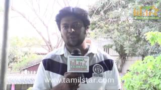 Sri Saravanan at Charles Shafiq Karthiga Movie Team Interview