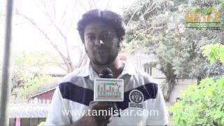 Sri Saravanan at Charles Shafiq Karthiga Movie Team Interview