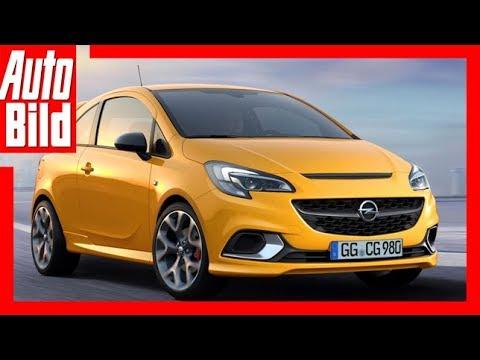 Opel Corsa GSi (2018) Erste Details/Erklärung