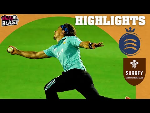 Outrageous Tom Curran Catch! | Middlesex v Surrey - Highlights | Vitality Blast 2021