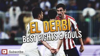 Video El Derbi - Real Madrid vs. Atletico Madrid (Best fights & Fouls ) MP3, 3GP, MP4, WEBM, AVI, FLV Maret 2019