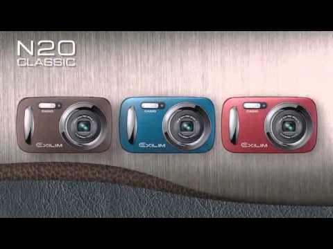 Casio Exilim N-Series EX-N10 EX-N20 EX-N1