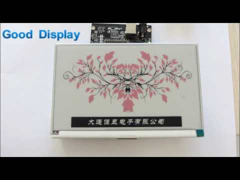 7.5 inch Three-color E-Paper Display - Introduction and Demo
