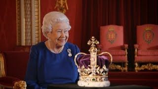 Video The diamond encrusted Imperial State Crown | The Coronation MP3, 3GP, MP4, WEBM, AVI, FLV Januari 2018