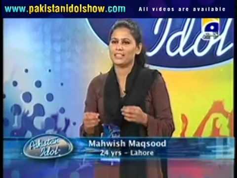 Pakistan Idol audition – Mahwish Maqsood Awesome Voice