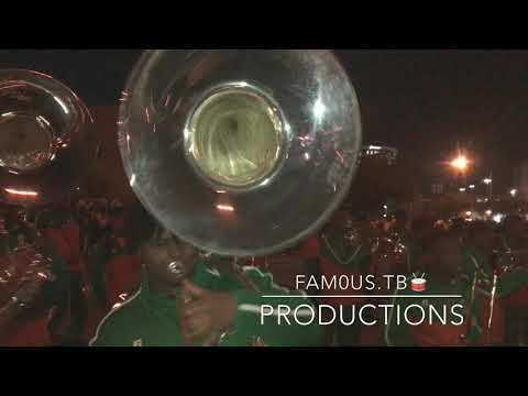 Leflore High School Marching Band (2018) Mardi Gras -Mask Off [Tuba/Percussion View]
