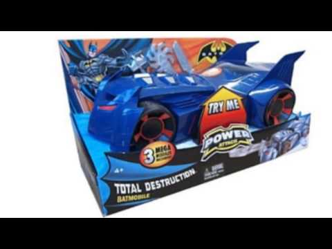 Video YouTube video advertisement on the Batman Power Attack Batmobile Vehicle