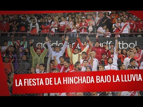 River vs Quilmes: La fiesta de la hinchada bajo la lluvia - Los Borrachos del Tablón - River Plate - Argentina - América del Sur