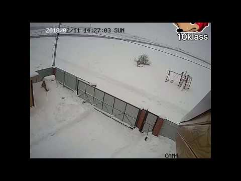 ОРИГИНАЛ - Крушение Ан 148 сняла частная Камера (видео)