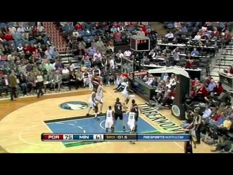 Wesley Matthews beats the buzzer againt Timberwolves